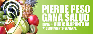 DIETA+AURICULOPUNTURA